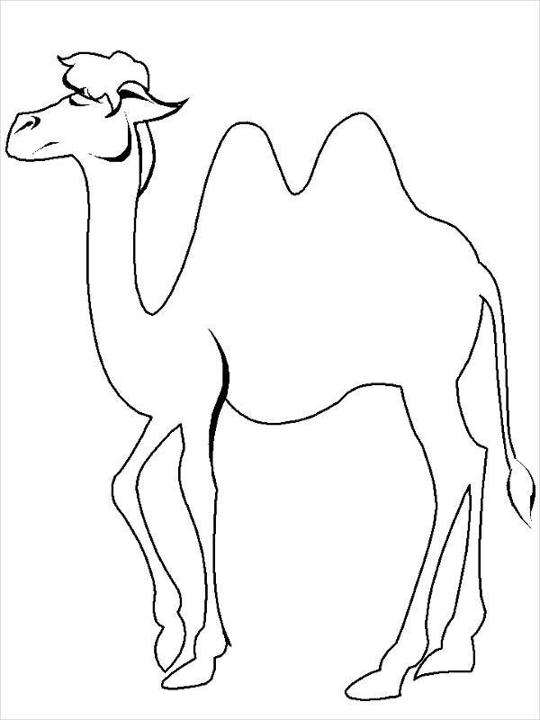 Cute Animal Coloring Page