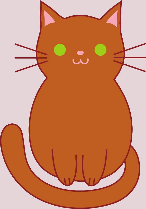 Cute Cat Graphics Clipart