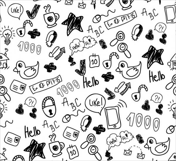 Cute Doodles Pattern