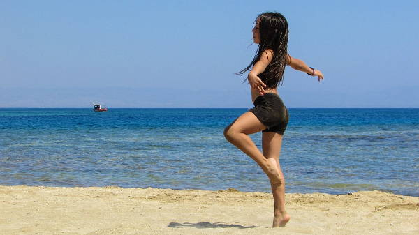 Dance Beach Photography
