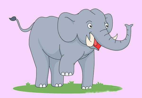 Dance Elephant Clip Art