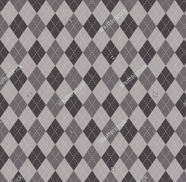 Decorative Argyle Pattern Design