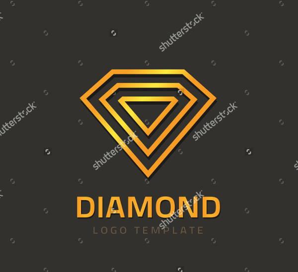 Diamond Outline Logo