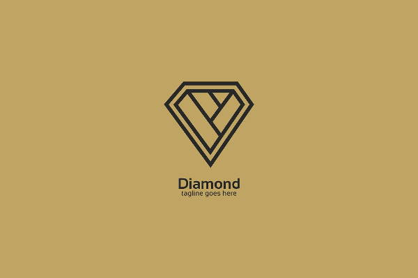 Diamond Shaped Logo
