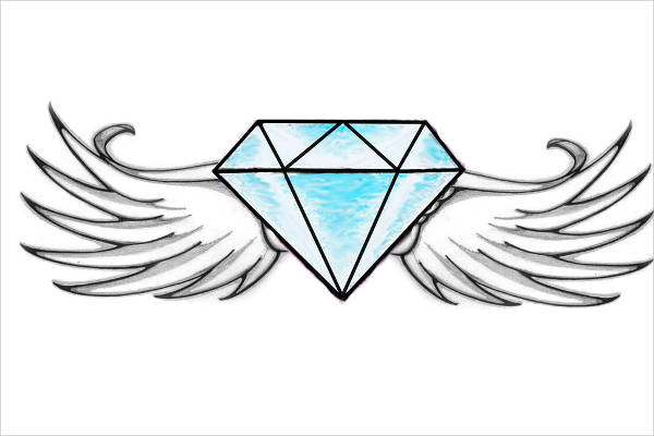 9+ Diamond Drawings - JPG Download