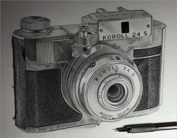 Digital Camera Drawing