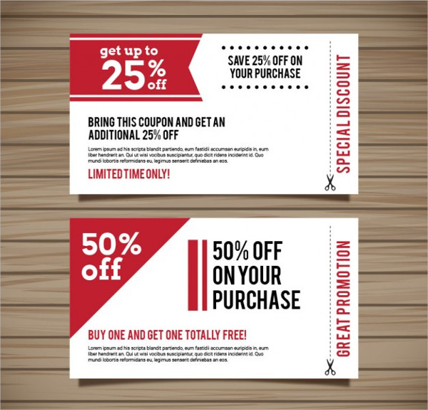 Digital Grocery Coupon Design