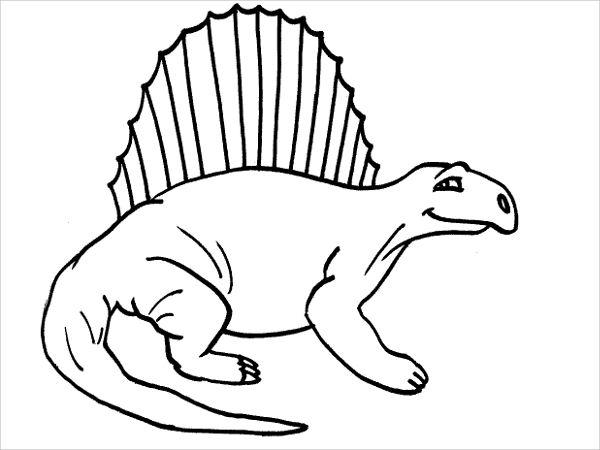 Dinosaur Clip Art Outline