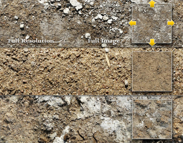 Dirt and Soil Textures