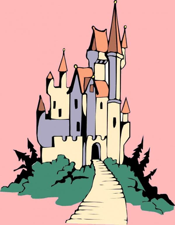 Disney Castle Clip Art