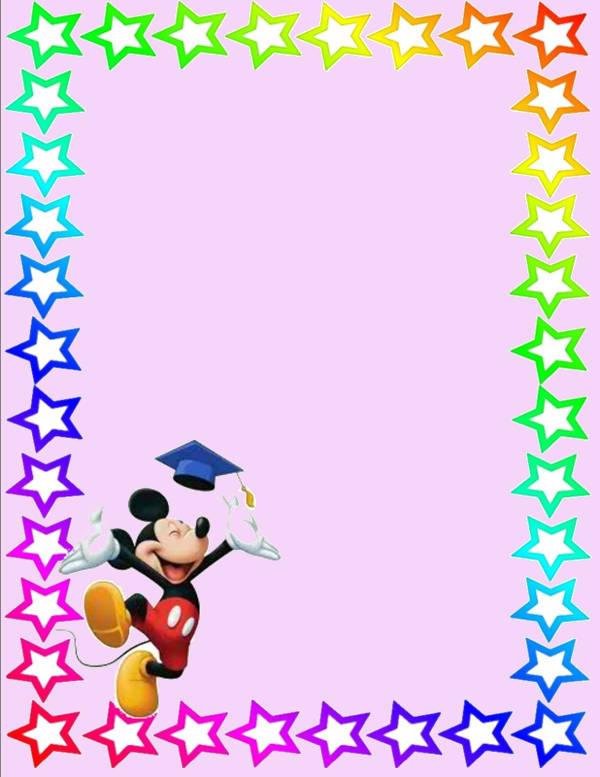 Disney Clip Art Border