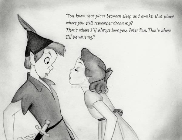 Disney Love Drawing