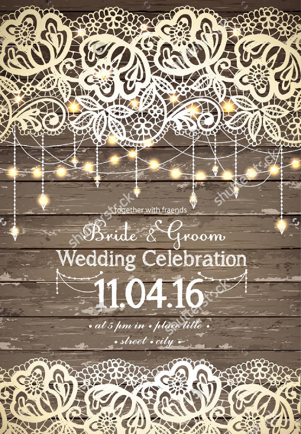 13  elegant rustic wedding invitations