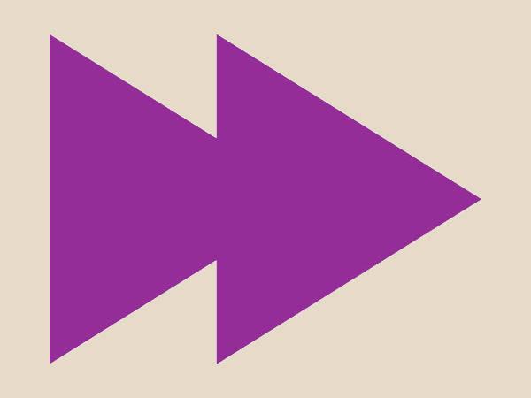 Double Arrow Clip Art
