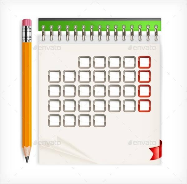 Download Blank Calendar Design