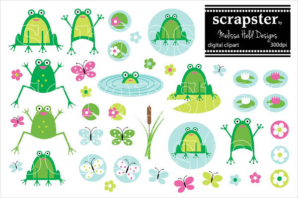Download Frogs Clipart