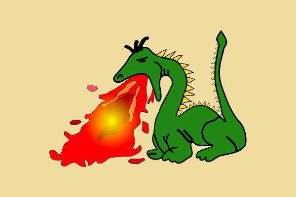 Dragon Fire Clipart