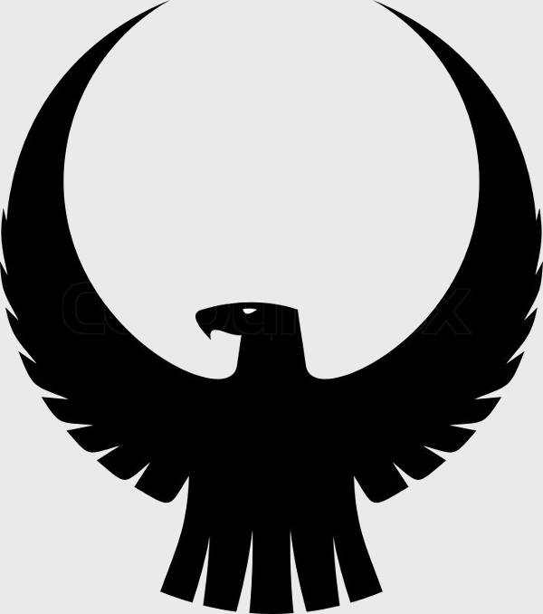 Eagle Wing Silhouette