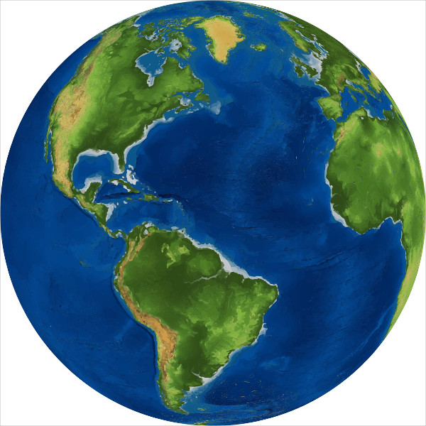 Earth Globe Clipart