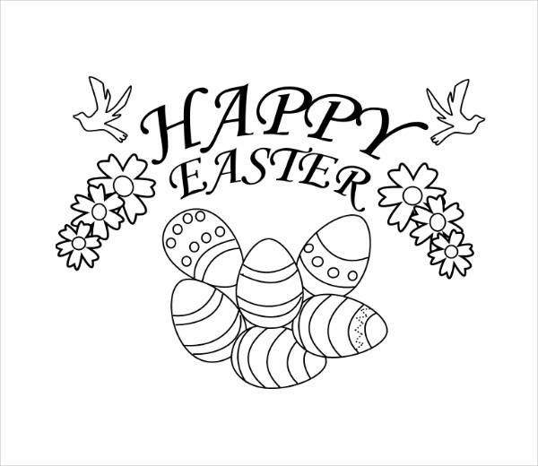 Easter Coloring Pages Printable