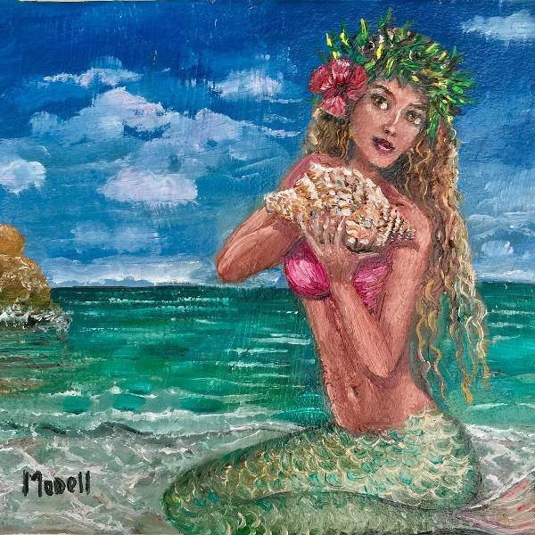 Easy Mermaid Painting