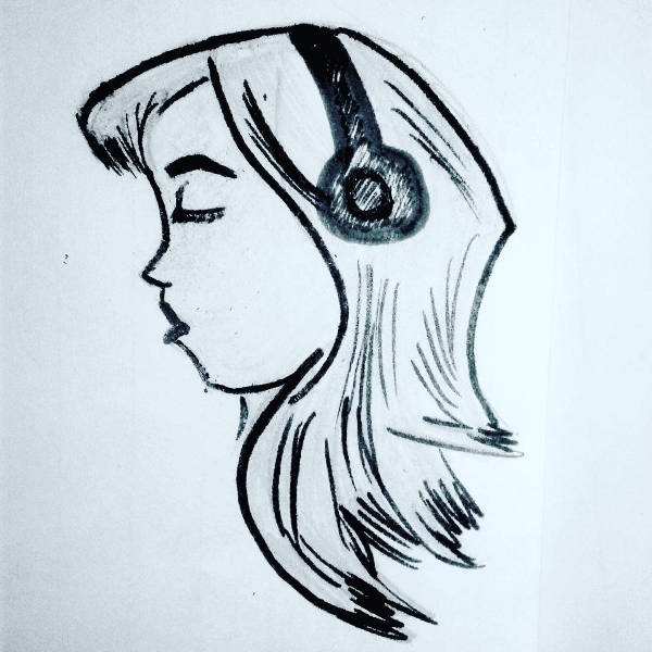 Easy Music Drawing