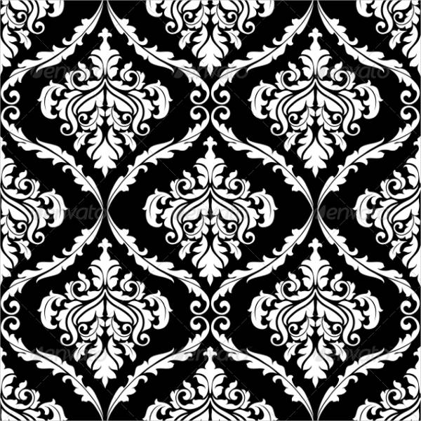 Editable Damask Pattern