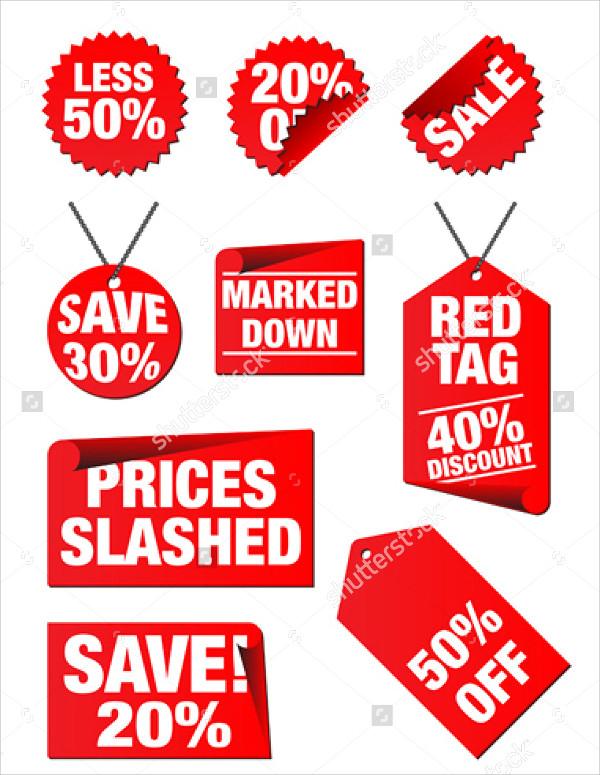 Editable Price Tag
