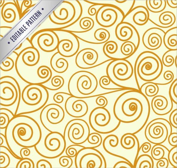 Editable Swirl Pattern