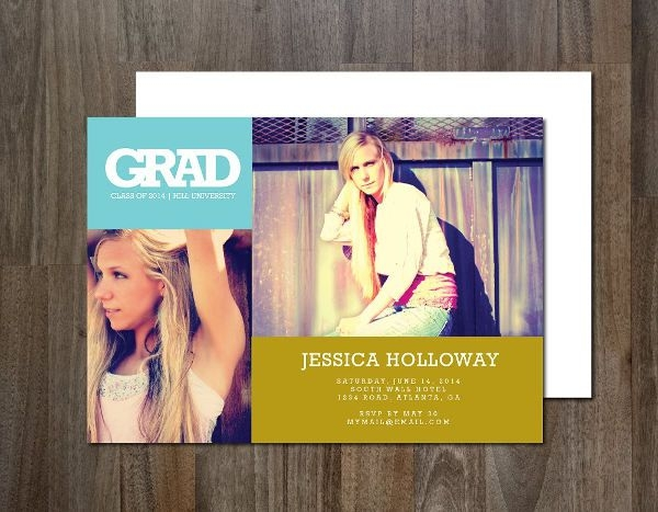 Elegant Graduation Invitation Wording