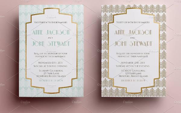 Elegant Invitation in PSD