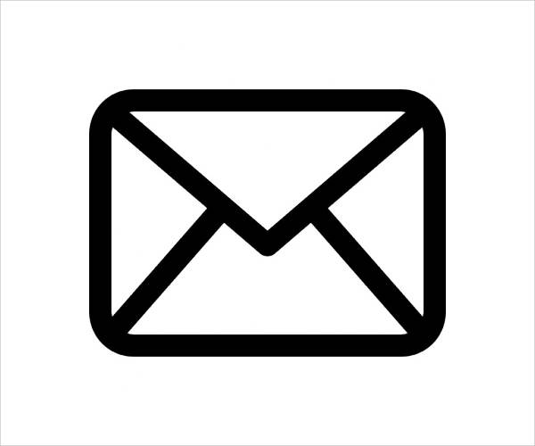 Email Outline Icons