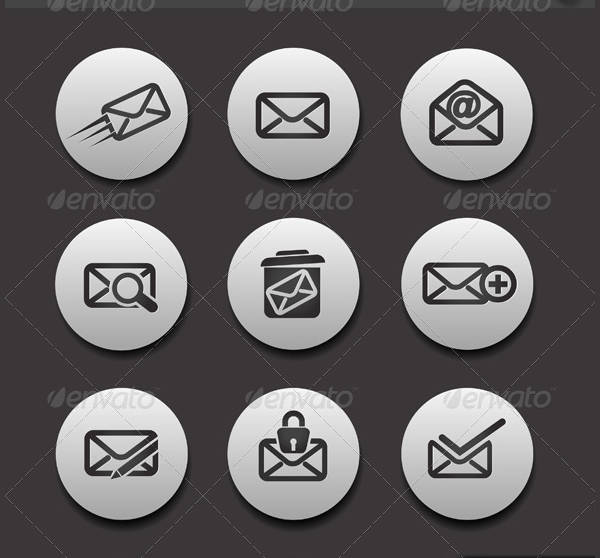 Email Vector Icons