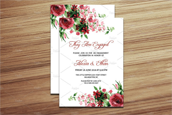 Engagement Party Invitation Design