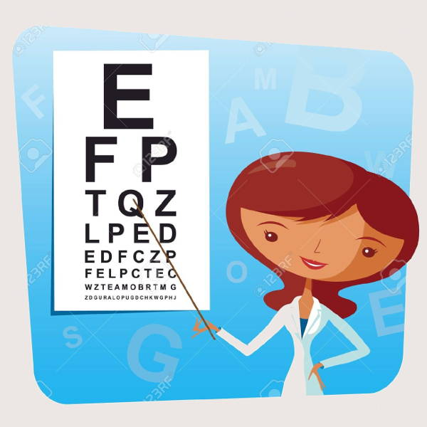 Eye Doctor Clipart
