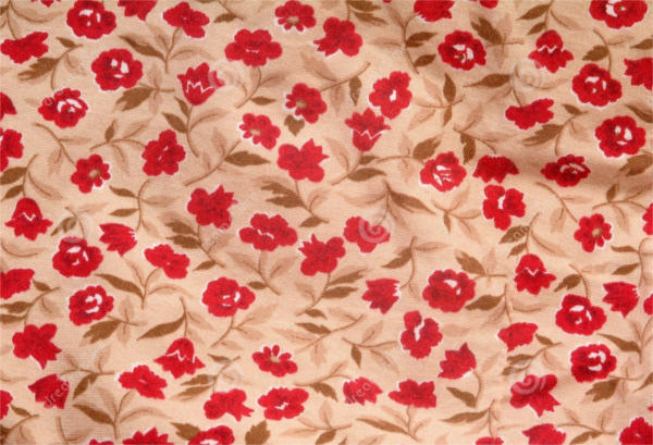 Fabric Floral Pattern