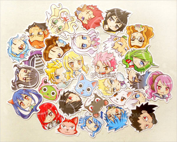 Fairy Tail Stickers