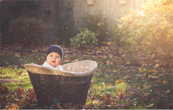 Fall Newborn Photography