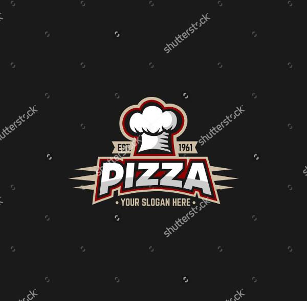 Famous Pizza Logo Design