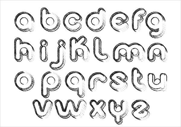 9 Bubble Letter Alphabets Jpg Download
