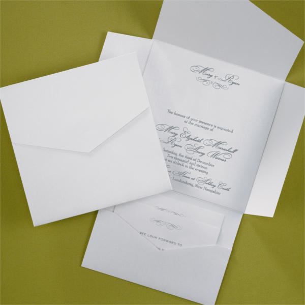 Fancy Pocket Invitation