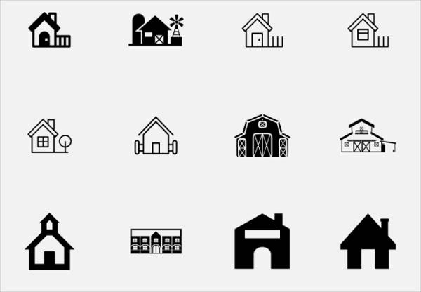 Farm House Icons