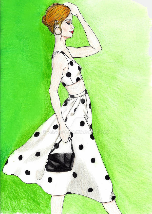 Fashion Outfit Illustration