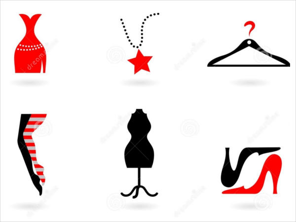 Fashion Shopping Icons