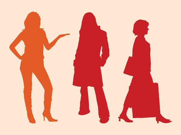 Fashion Women Silhouettes