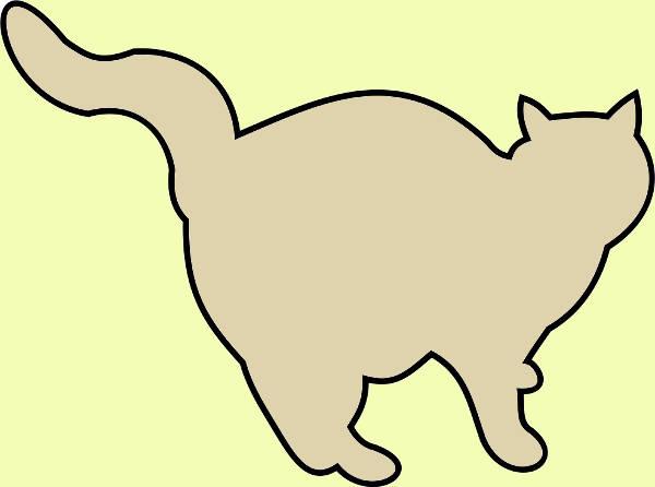 Fat Cat Clipart
