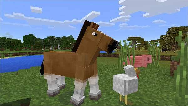13 Pics Of Minecraft Horse Coloring Pages In Color - Minecraft ... | 340x600