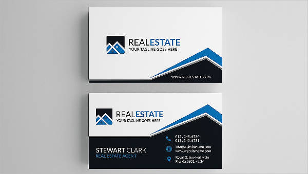 Image result for simple real estate business card