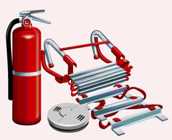 Fire Accessories Clipart