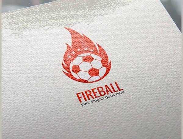 Fire Football Logo